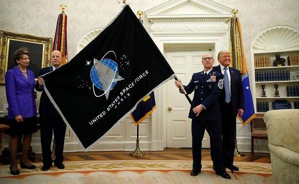 Создать Космические силы Трампа заставили Россия иКитай