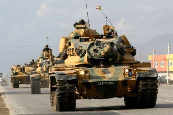 Турецкие танки заняли Африн
