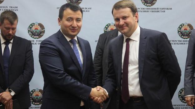 Россия и Узбекистан создадут общие оптовые сети и логистические хабы