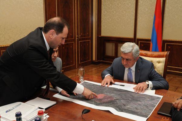 Серж Саргсян поблагодарил Россию за помощь в тушении пожара в заповеднике