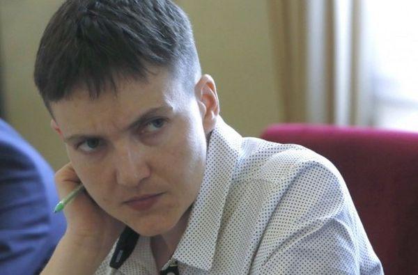 Савченко просит Трампа усилить санкции против России