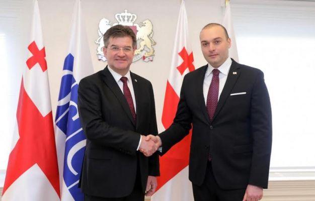Лайчак поддержал «территориальную целостность» Грузии