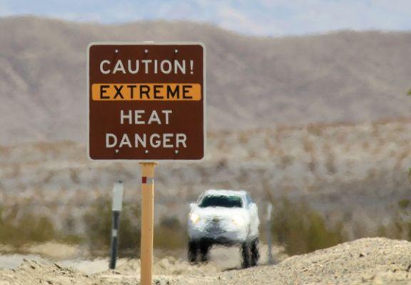 Как вдуховке: вДолине смерти зафиксирован температурный рекорд планеты