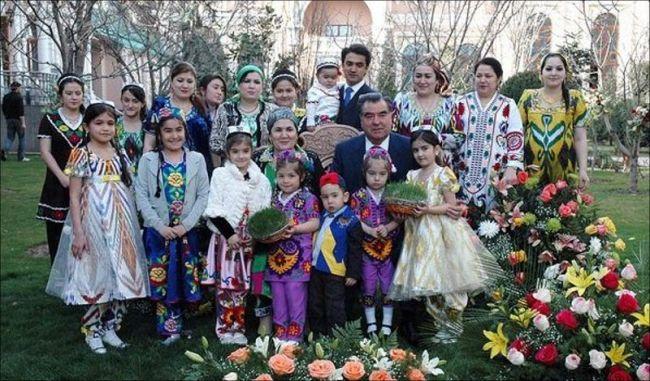 Фото детей эмомали рахмона