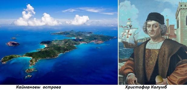 Картинки по запросу 1503 -Христофор Колумб открыл Каймановы острова.