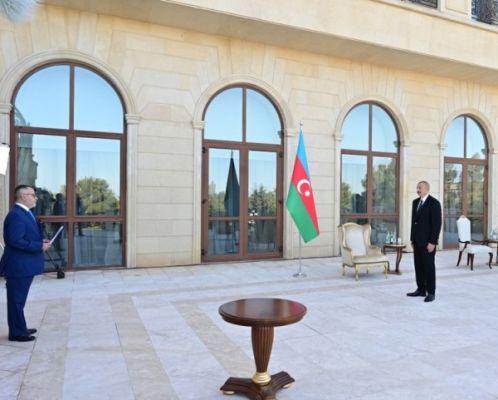 Алиев «обрушился» нанового посла Греции союзом Азербайджана иТурции