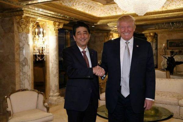 Трамп «неподведет»: Премьер министр Японии