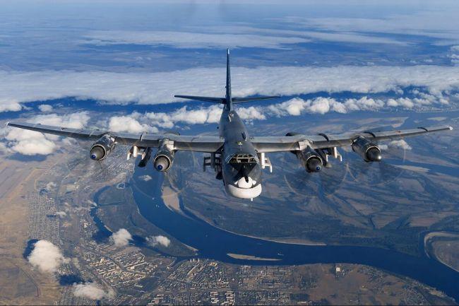 Секретное задание российских ракетоносцев Ту-95МС длилось 10 часов