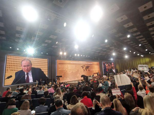 Заметки на полях стенограммы пресс-конференции Путина-Таврического