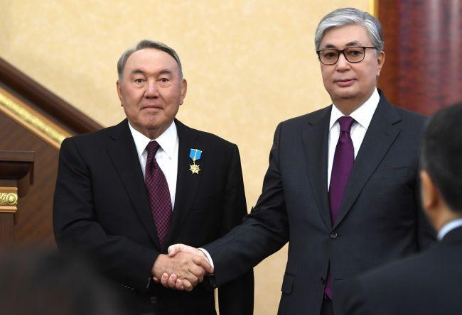 Tokajew wzmocnił pozycję Nazarbajewa