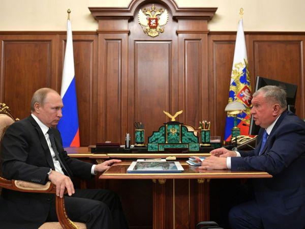 Сечин рассказал Путину сколько заплатит «Роснефть» в бюджет
