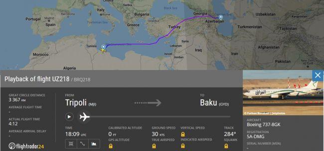 Самолеты скандальной азербайджанской авиакомпании полетели вИзраиль