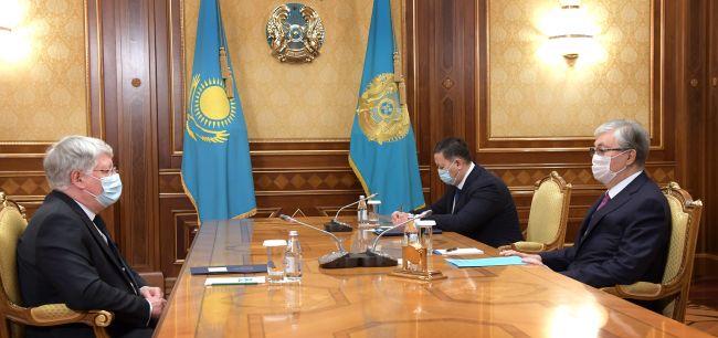 Токаев обсудил спослом России предстоящий саммит ОДКБ