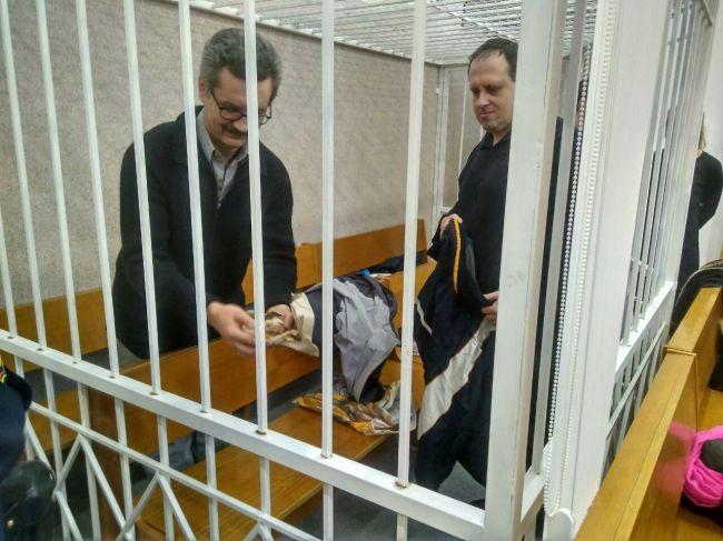 Пророссийских публицистов судят в Минске: 22.12.2017 день пятый