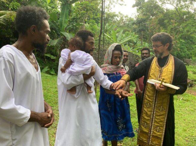 Папуасы попросили патриарха Кирилла оправославной миссии